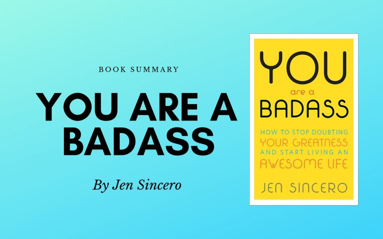 You are a Badass – Jen Sincero – Book Summary